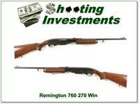 Early Remington 760 Gamemaster in 270 Winchester