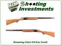 Browning Citori 410 28in Full and Mod Exc Cond!