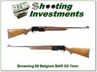 Browning BAR Grade II 68 Belgium Blond 7mm
