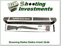Browning A-bolt Stainless Stalker 30-06 NNIB