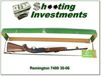Remington 7400 30-06 unfired in box!