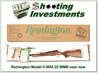 Remington Model Five NRA edition 22 Mag Exc Cond