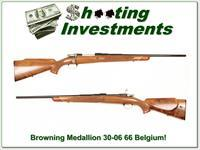 Browning Medallion Grade 66 Belgium 30-06 as new!