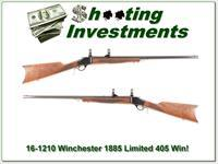 Winchester 1885 Limited Series in 405 Winchester!