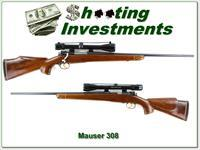 Mauser Custom 308 Winchester Exc Cond with scope