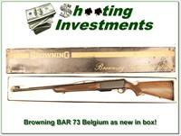 Browning BAR 73 Belgium, new unfired in box 300 Win Mag