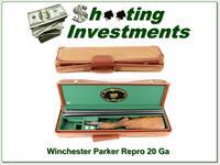 Parker D-Grade Winchester Reproduction 20 Ga 26in Nice