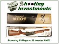 Browning A5 Magnum 12 Invector ANIB!