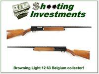 Browning A5 Light 12 63 Belgium Top Collector!
