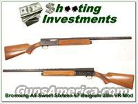 Browning A5 Sweet Sixteen 67 Belgium 28in Mod VR