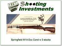 Springfield M1A Pre-Ban in box with many extras!
