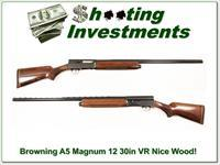 Browning A5 Magnum 12 nice wood 30in VR