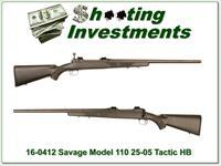 Savage 110 Tactical 25-06 Left Handed Heavy Barrel