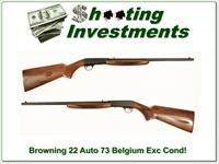 Browning 22 Auto 73 Belgium near new condition!