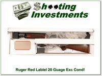 Ruger Red Label 20 Gauge 26in Exc Cond!