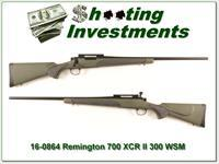 Remington XCR II in 300 WSM