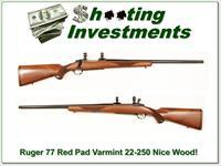 Ruger 77 Varmint 22-250 Red Pad Exc Cond!