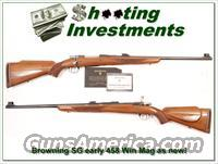 Browning Safari Grade 458 Win 60 Belgium