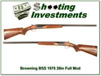 Browning BSS 12 Gauge 28in barrels