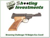 Browning Challenger 70 Belgium in case Exc Cond!