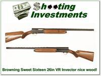 Browning A5 Sweet Sixteen 26in Invector nice wood!
