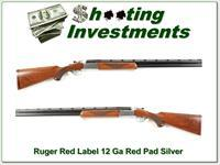 Ruger Red Label 12 Gauge 28in F & M Red Pad Silver