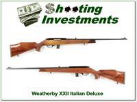 Weatherby XXII 22 Auto Italian beauty!