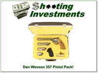 Dan Wesson Stainless 38 357 Magnum Pistol Pac