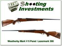 Weatherby Mark V 5-panel Lazermark 26in 300