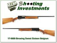 Browning A5 Sweet Sixteen 66 Belgium Blond!