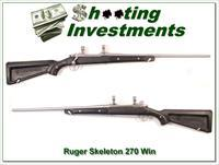 "Ruger Mark II Stainless ""Skeleton"" 270 Win"