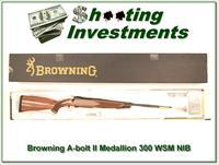 Browning A-bolt II Medallion 300 WSM last of the new ones!