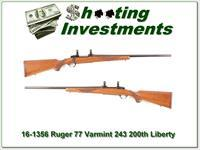Ruger Model 77 1976 Liberty Varmint 243 Winchester!