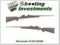 Winchester Model 70 in hard to find 223 WSSM