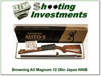 Browning A5 Magnum 12 Exc Cond in box