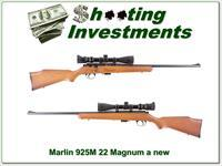 Marlin 925M .22 magnum w 3-9 scope