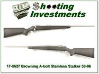 Browning A-bolt II Stainless Stalker 30-06 like new!