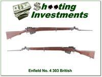 Enfield No.4 MK 1 1942 303 British with bayonet Exc Cond!