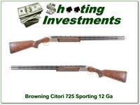 Browning Citori Sporting 725 12 Gauge Adjustable Comb Like New