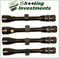 Weatherby Premier hard to find  4X Rifle Scope Excellent