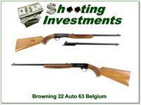 Browning 22 Auto 63 Belgium Blond w/ Jap barrel