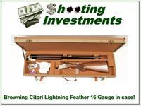 Browning Citori Feather Lightning 16 Gauge 28in in case!