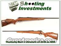 Weatherby Mark V Ultramark LH 30-06 as NEW!