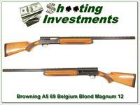 Browning A5 Magnum 12 69 Belgium 28in VR Modified!