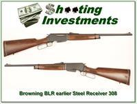 Browning BLR 308 Winchester earlier steel receiver