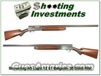 Browning A5 Light 12 51 Belgium Solid Rib!