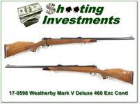 Weatherby Mark V Deluxe 460 Wthy Exc Cond!