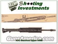 "Advanced Armament AAC 300 Blackout 16"" Upper in box"