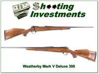 Weatherby Mark V Deluxe 300 Wthy near new!