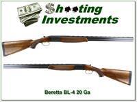 Beretta BL-4 20 Gauge 28in barrels